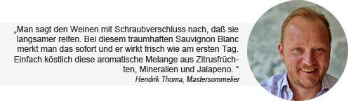 Hendrik Thoma Weintipp Sauvignon