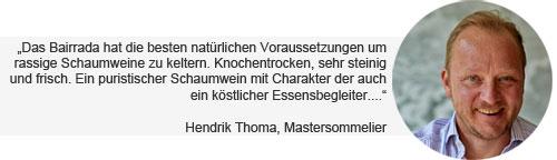 Espumante Hendrik Thoma Weinempfehlung